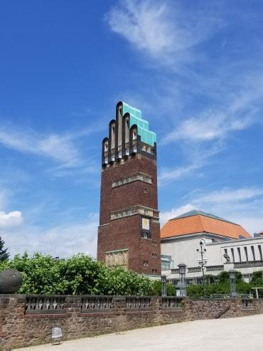 The Wedding Tower in Darmstadt