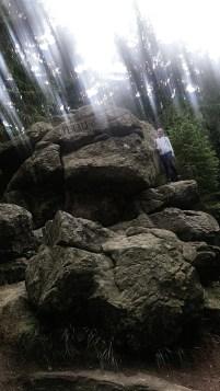Hiking up Mount Klet