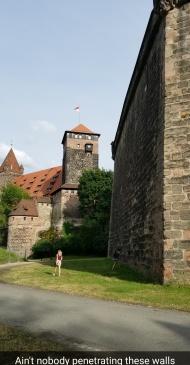 Exploring Kaiserburg, Nuremberg