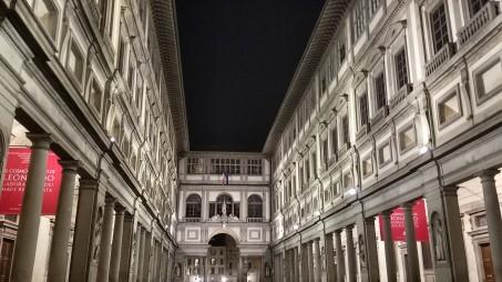 The Uffizi Museum and Palace