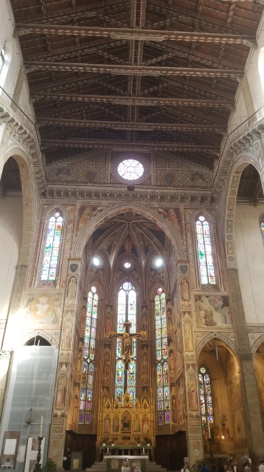 Main altar of Santa Croce