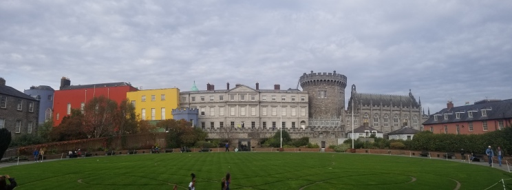Dublin Castle is still in use as government buildings today