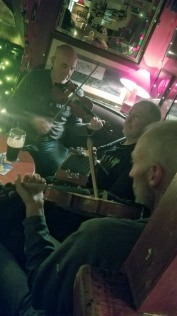 "The ""trad session"" at Sin E"