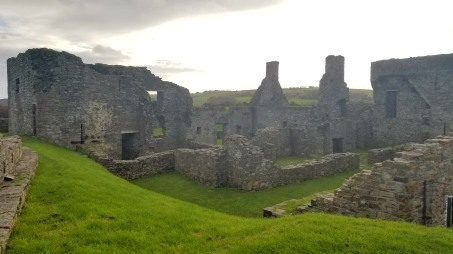 Ruins of the smaller James Fort
