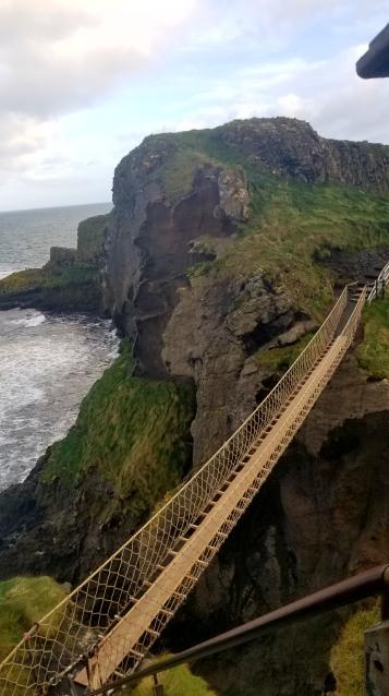 The Carrick-a-reder ropebridge